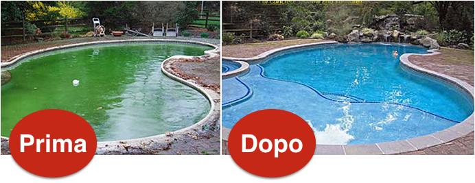 Pulizia e Lavaggio piscine Crema