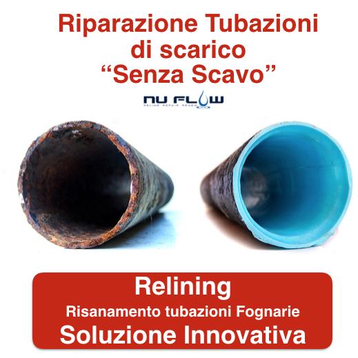 Relining Risanamento Tubazioni Cremona e Provincia